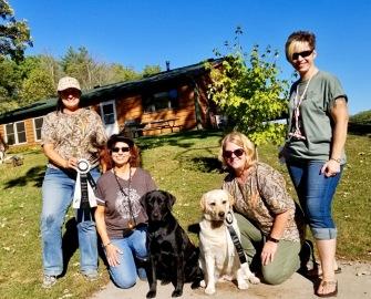 Linda, Sue, Bijou, Hillary Oct 2017